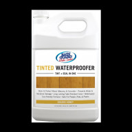 Tinted Waterproofer Golden Honey 1 Gallon