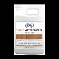Tinted Waterproofer Natural Brown 1 Gallon