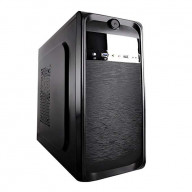 TP-2001BB-400 ATX/mATX Med Tower Case With 400W Power Supply