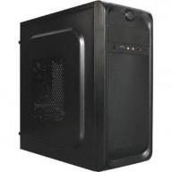 TP-2001BB-500 ATX/mATX Med Tower Case With 500W Power Supply