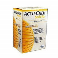 Accu Chek Softclix Lancet 200 Pieces