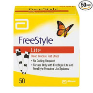 FreeStyle Lite Blood Glucose Test Strips now have ZipWik tabs to make your blood glucose testing experience even easier. FreeStyle Lite Blood Glucose Test Strips are compatible with FreeStyle Lite.