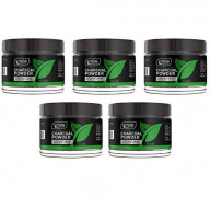 Natural Teeth Whitening Charcoal Powder By Smile Secrets (Pack of 5)