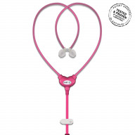 Vest Anti-Radiation Wired Headset - Pink