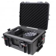 VaultX Watertight Case w/ Handle, wheels & foam set, Ext: 21 x 16 x 9.5 in., Int. 19 x 14 x 9 (7.5 + 1.5)