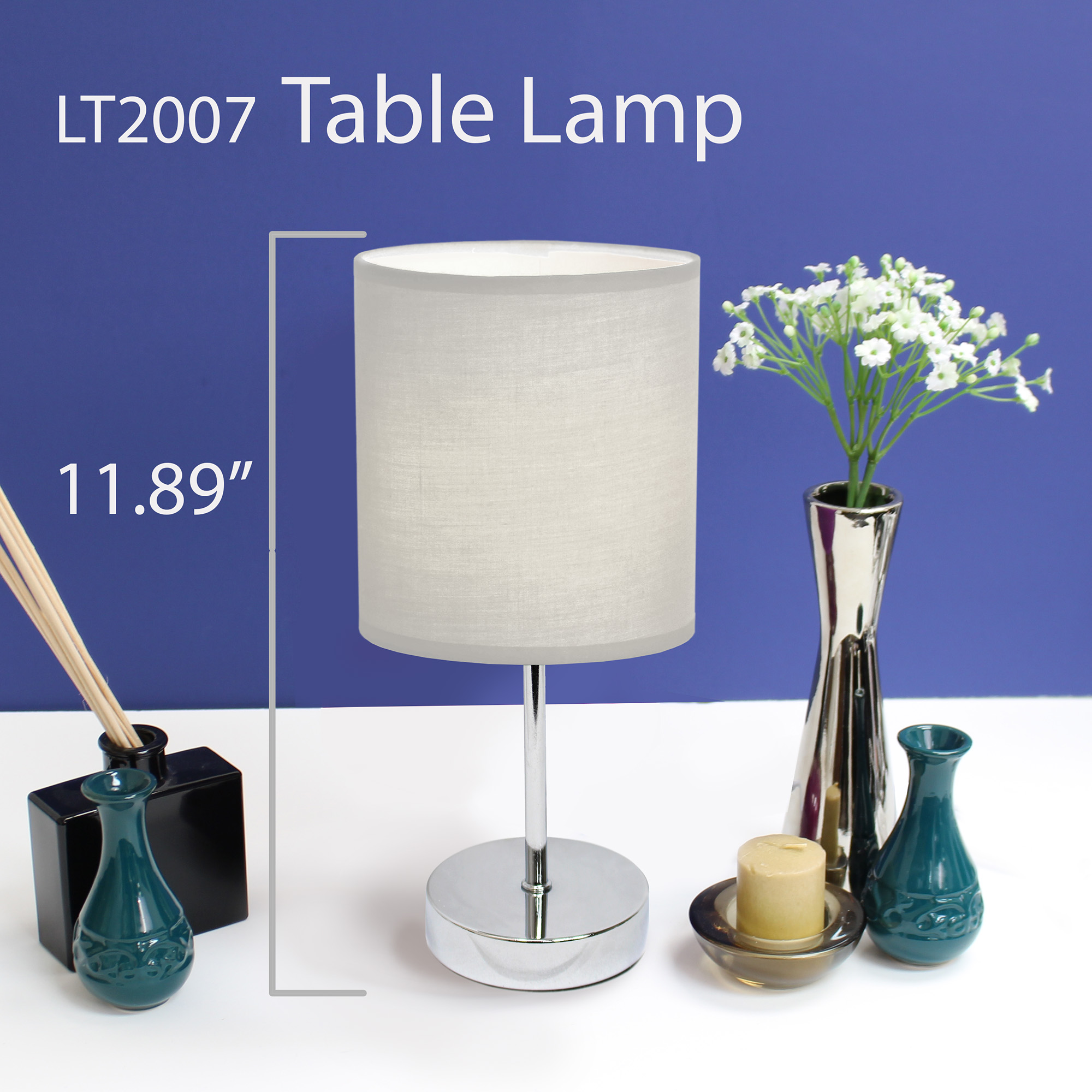 Simple-Designs-Chrome-Mini-Basic-Table-Lamp-with-Fabric-Shade