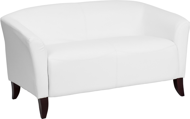 HERCULES-Imperial-Series-Gray-Leather-Loveseat-111-2-GY-GG thumbnail 8