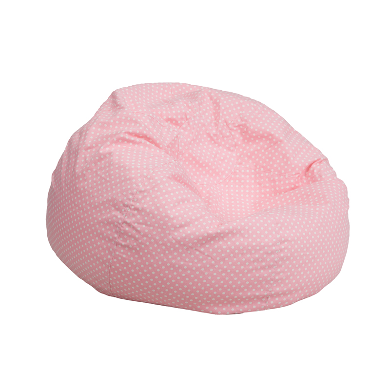Small Dot Kids Bean Bag Chair Dg Bean Small Dot Grn Gg