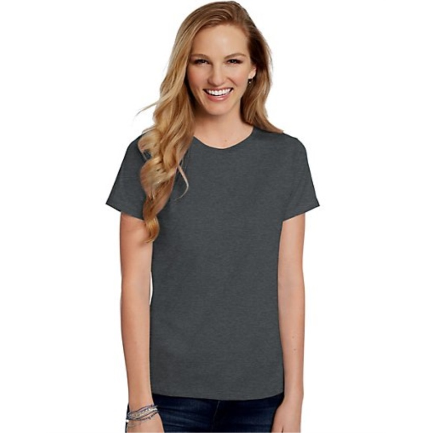Hanes-Women-039-s-Relaxed-Fit-Jersey-ComfortSoft-Crewneck-T-Shirt-S thumbnail 100