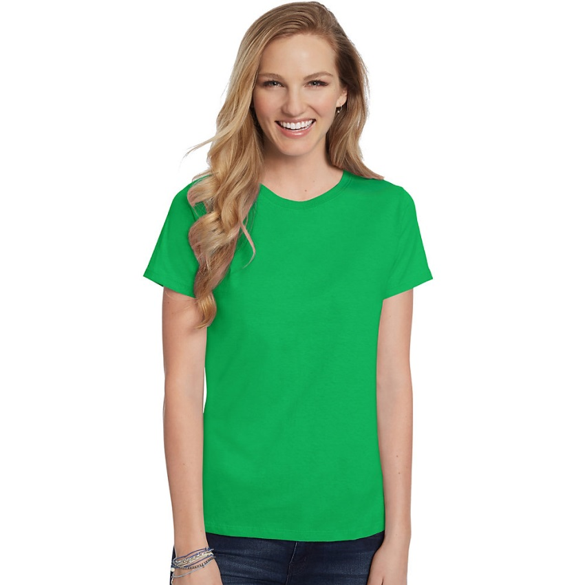 Hanes-Women-039-s-Relaxed-Fit-Jersey-ComfortSoft-Crewneck-T-Shirt-S thumbnail 89