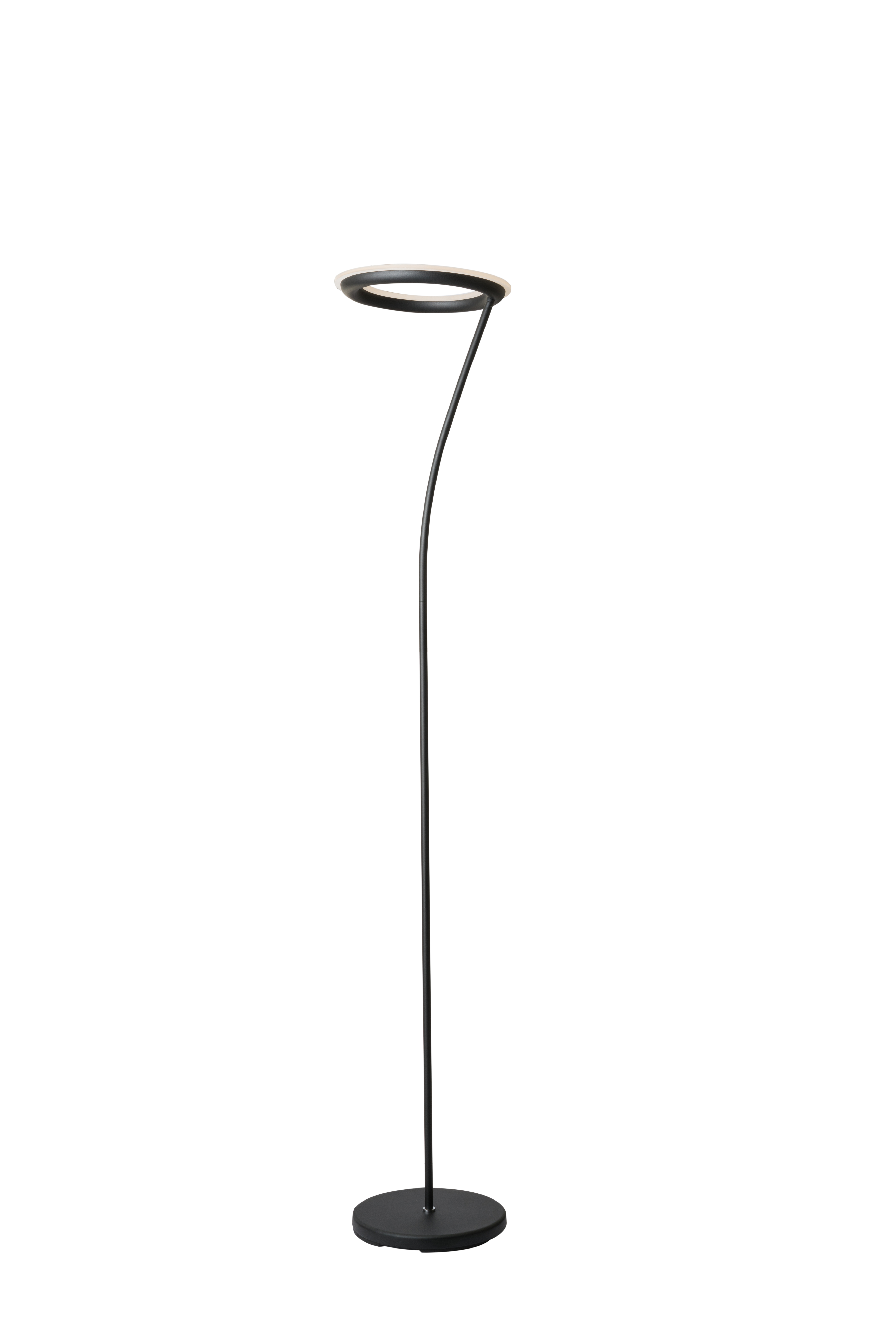 Image Is Loading 73 034 Tall Metal Torchiere Floor Led Lamp