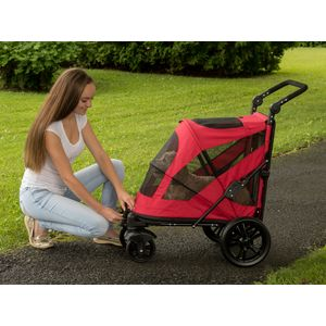 EXCURSION-NO-ZIP-PET-STROLLER-CANDY-RED thumbnail 15
