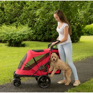 EXCURSION-NO-ZIP-PET-STROLLER-CANDY-RED thumbnail 13