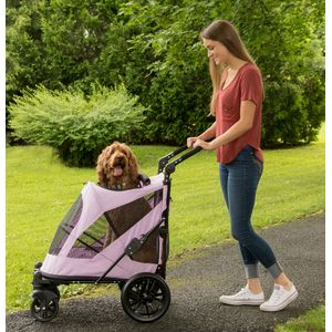 EXCURSION-NO-ZIP-PET-STROLLER-CANDY-RED thumbnail 8