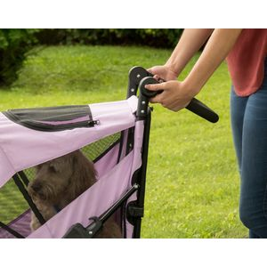 EXCURSION-NO-ZIP-PET-STROLLER-CANDY-RED thumbnail 11