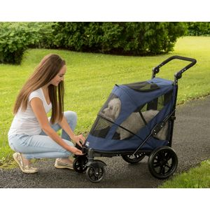 EXCURSION-NO-ZIP-PET-STROLLER-CANDY-RED thumbnail 4