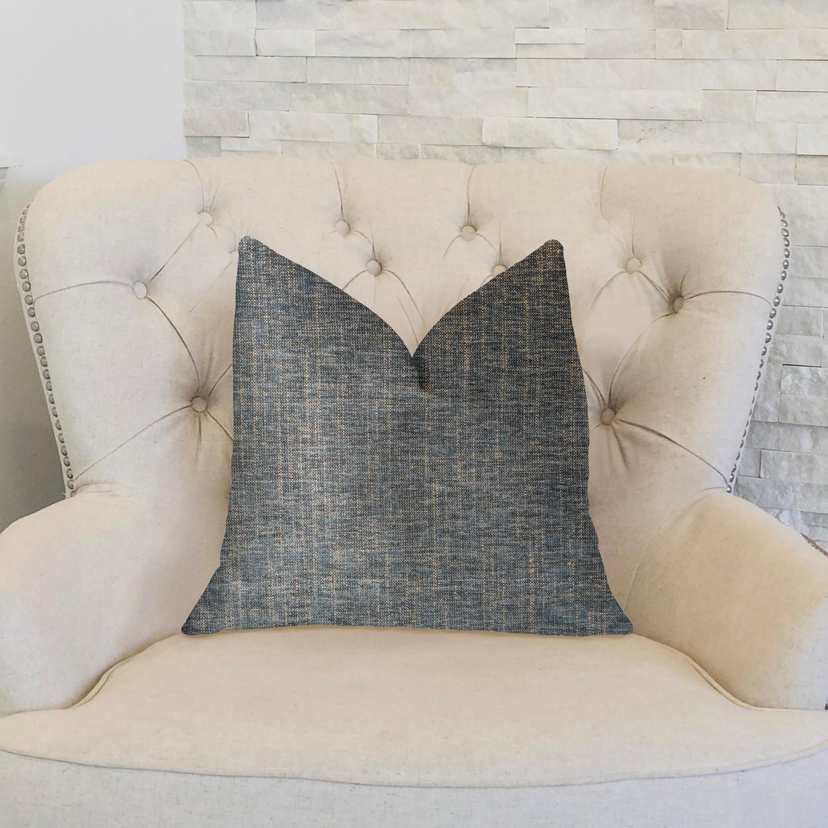 Plutus Pista o Emerald Grün Luxury Throw Pillow - Double sided  12 x 20