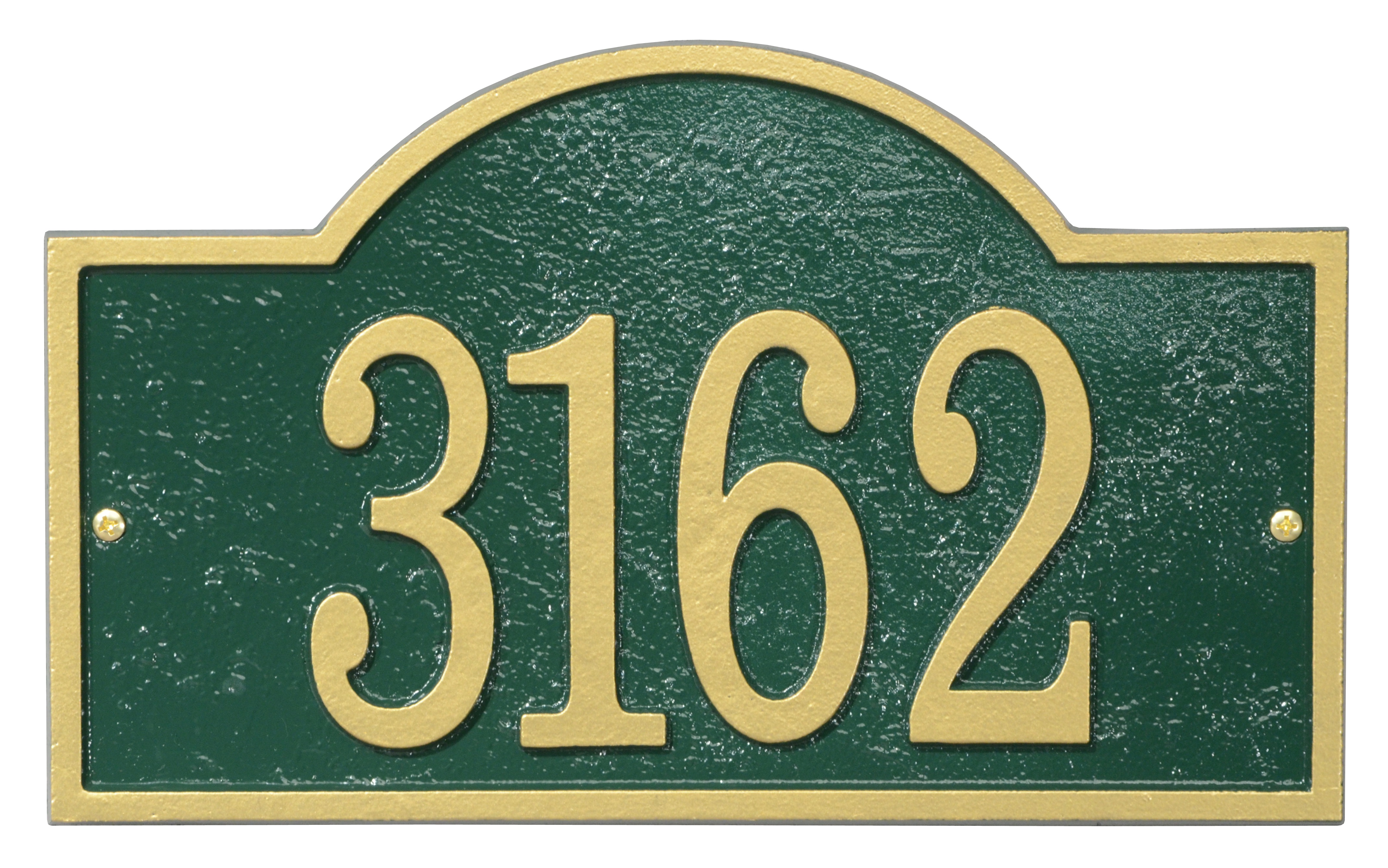 Fast-amp-Easy-Arch-House-Numbers-Plaque thumbnail 5