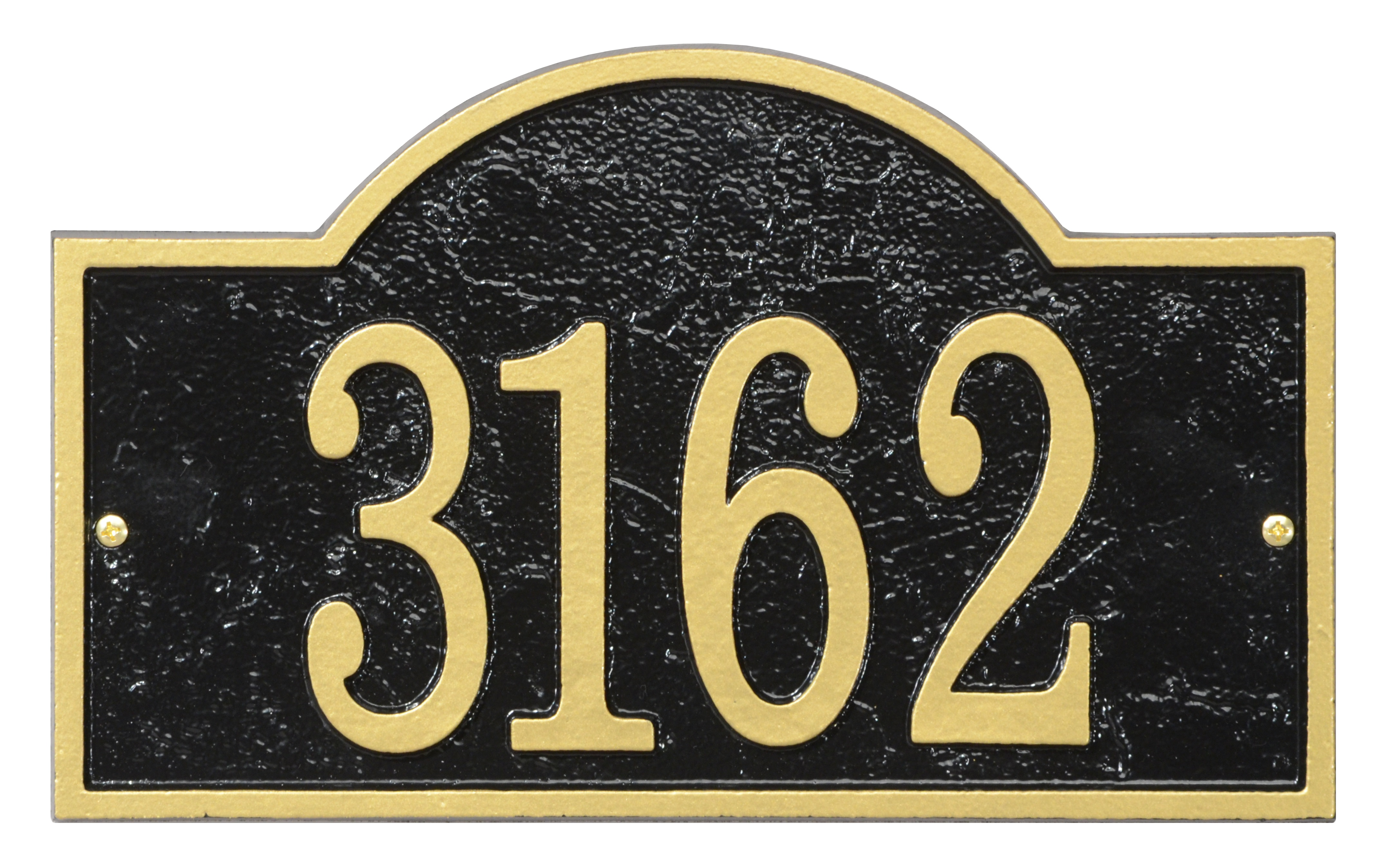 Fast-amp-Easy-Arch-House-Numbers-Plaque thumbnail 2