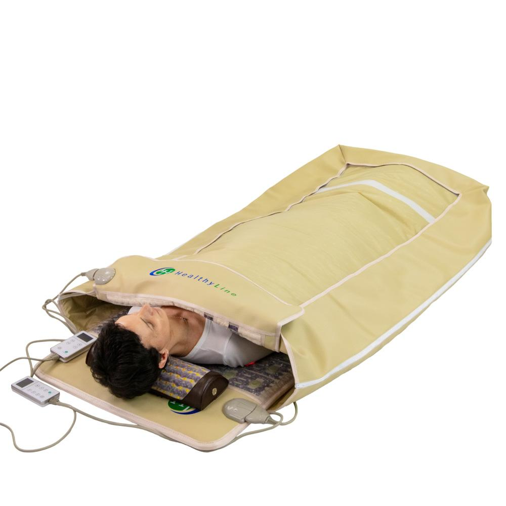 Cocoon Mat with TAJ + SOFT 7224 Photon LED light and PEMF therapy
