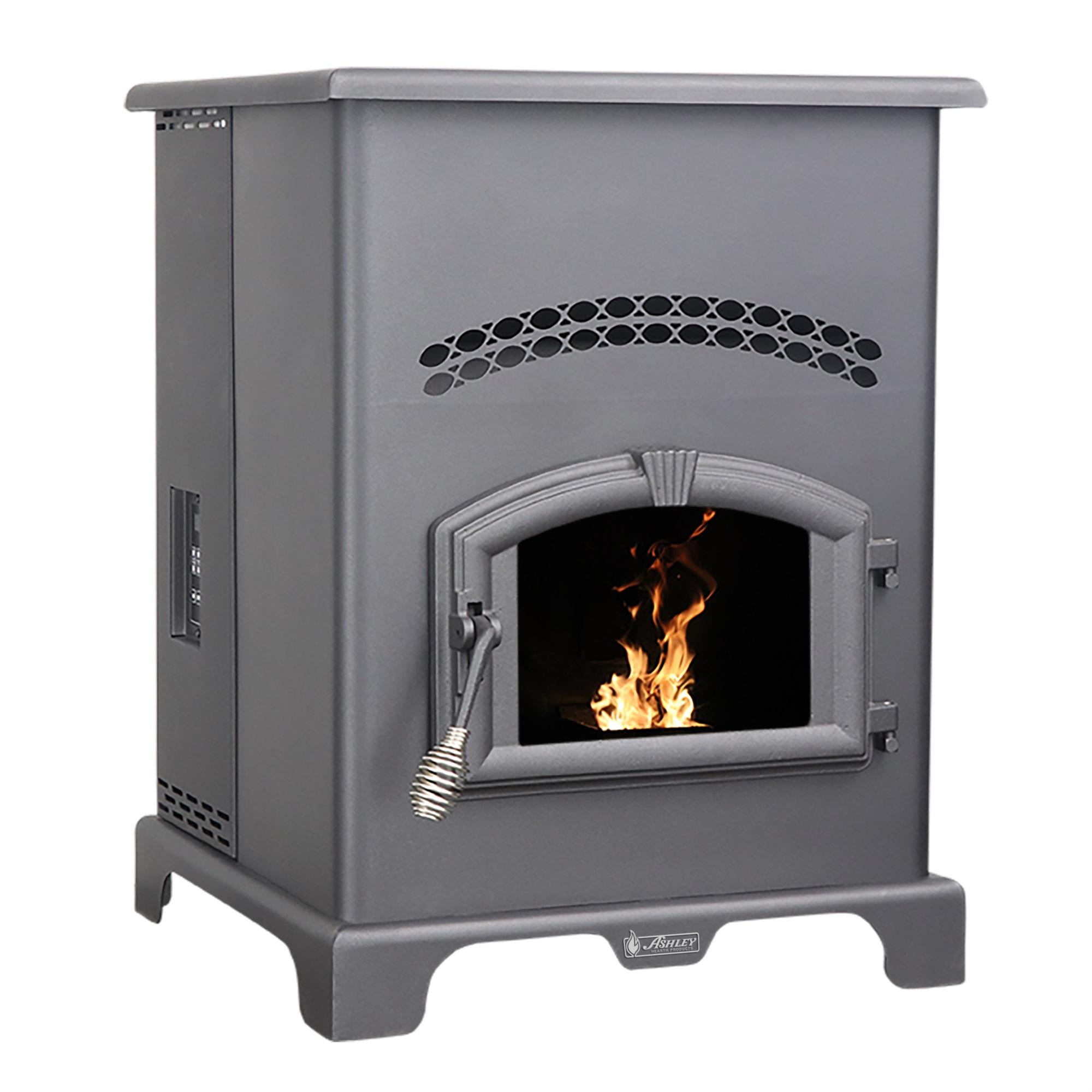 2,200 Sq Ft EPA Certified Pellet Stove with 130 lb Hopper