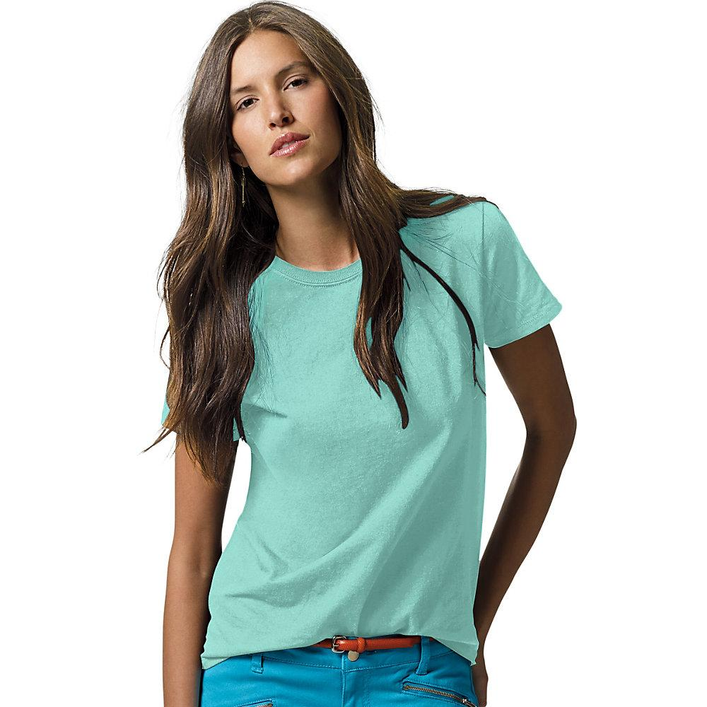 Hanes-Women-039-s-Relaxed-Fit-Jersey-ComfortSoft-Crewneck-T-Shirt-S thumbnail 12