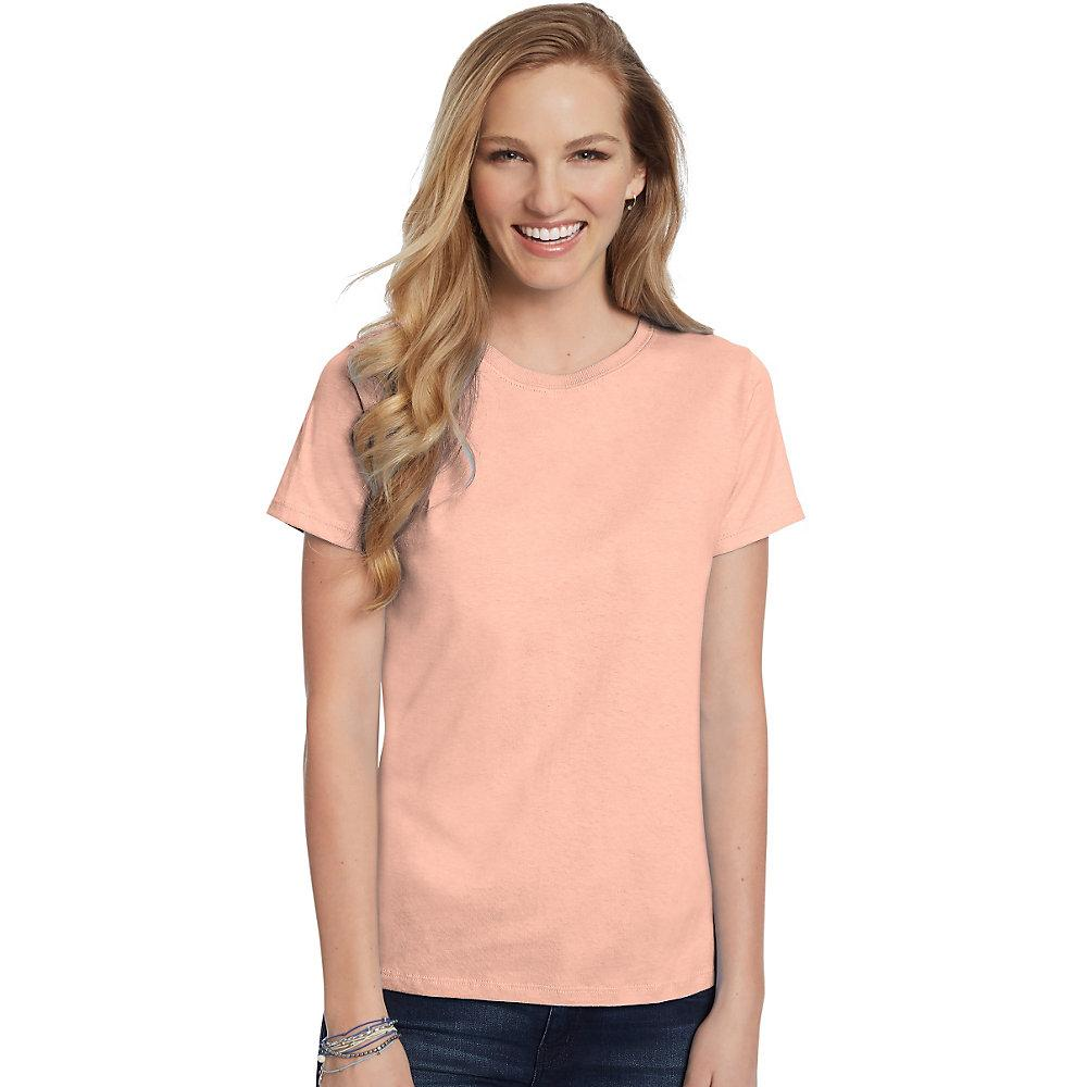 Hanes-Women-039-s-Relaxed-Fit-Jersey-ComfortSoft-Crewneck-T-Shirt-S thumbnail 23