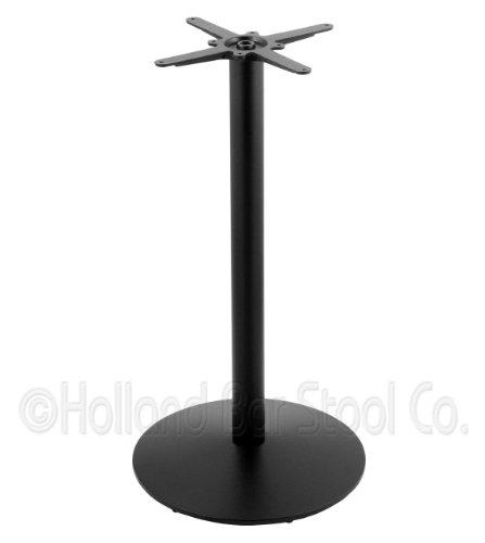 214 Black Cast Iron Counter Height Base with 22