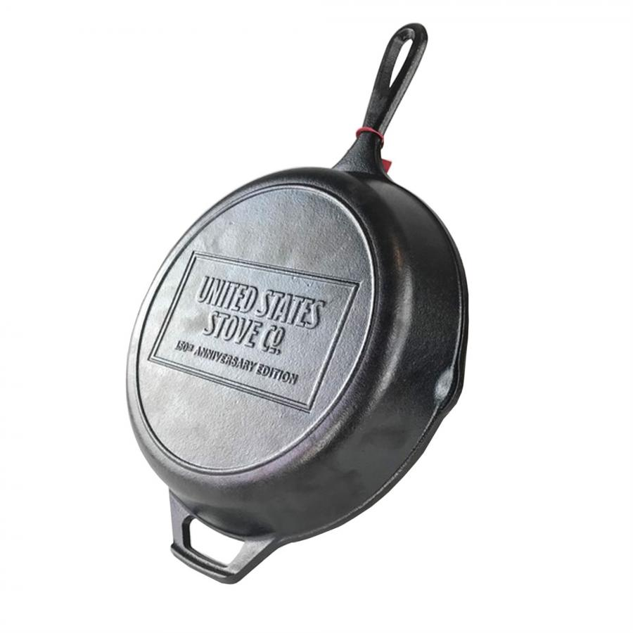 US Stove Company 150th Anniversary 10.25 In. Cast Iron Skillet - Limited Edition
